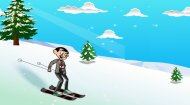Mr Bean Skiing Game