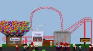 Roller Coaster Theme Park Game