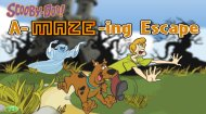Scooby Doo Maze Game