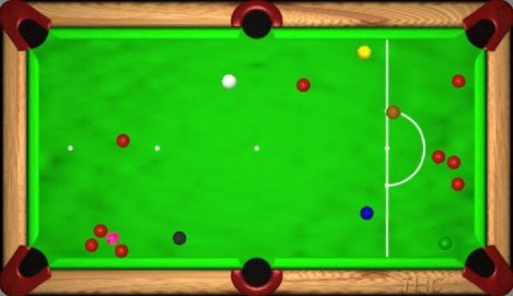 Downloadable Snooker Game